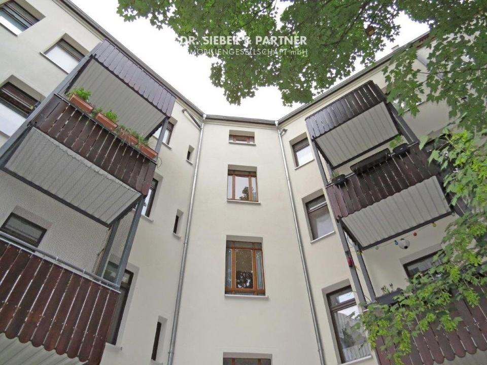 Hofseitige Balkone