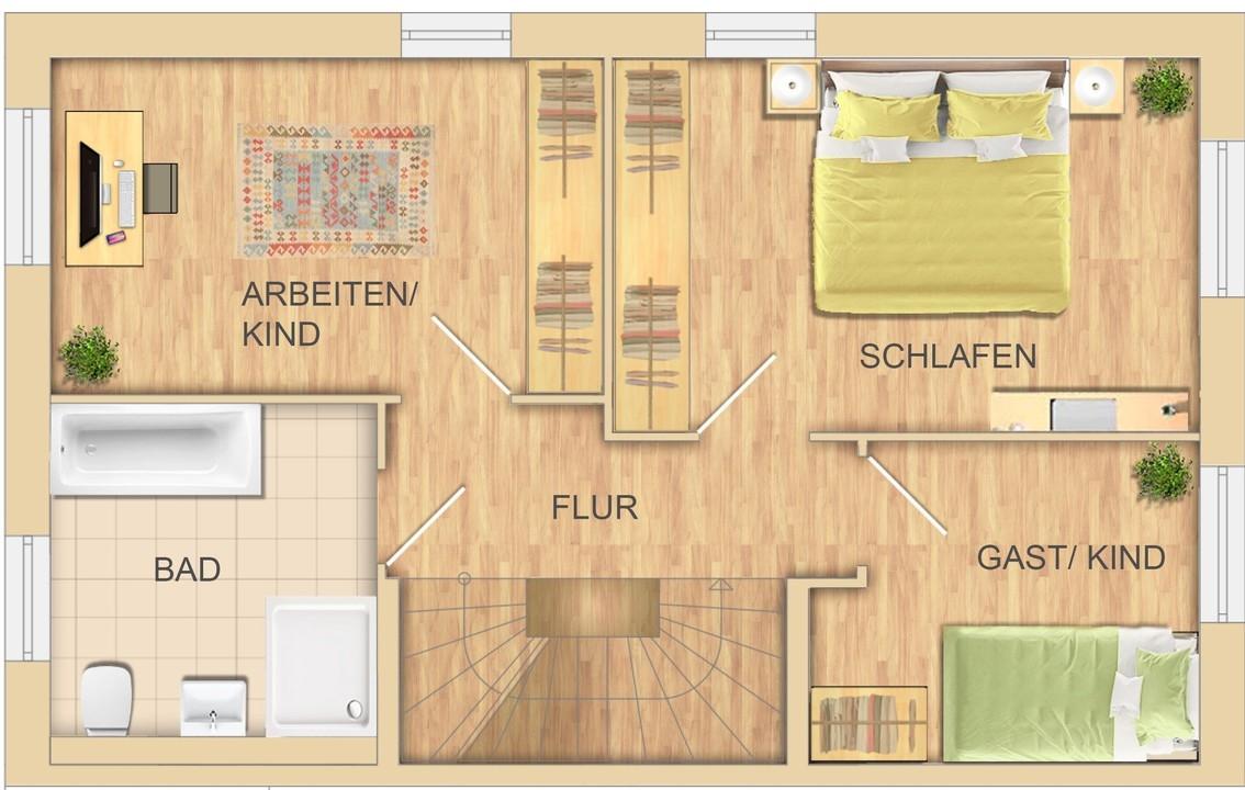 OG Variante 3 Zimmer