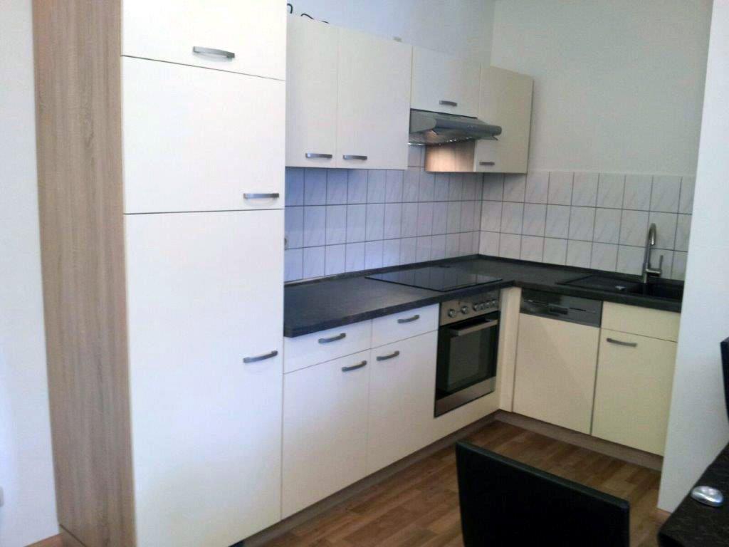 Küche eingerichtet