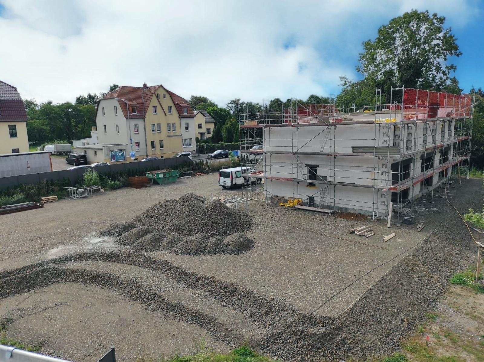 Baustelle Leipziger Straße Häuser 1-4