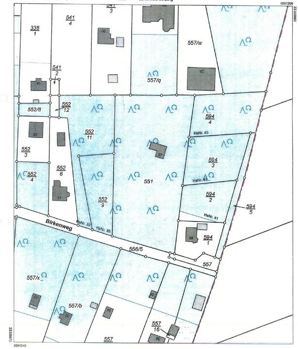 Lageplan gesamt 4610 m²