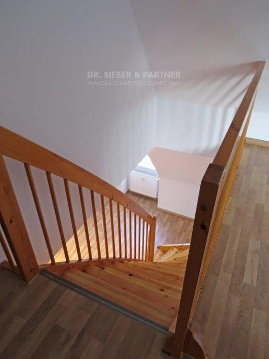 Treppe in Ebene 2