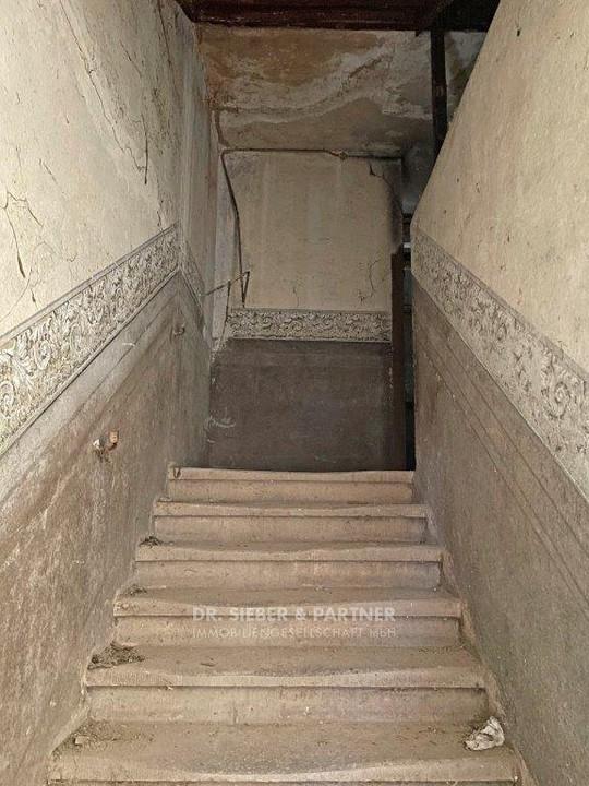 Zustand Treppenhaus