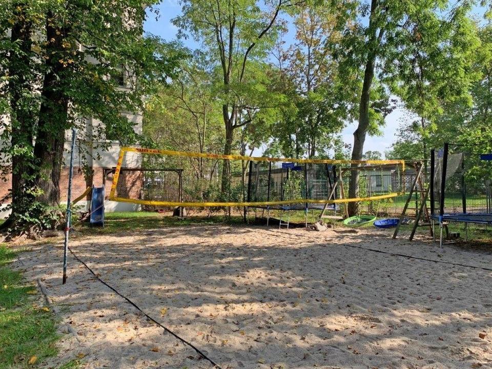 Beach-Volleyball-Platz