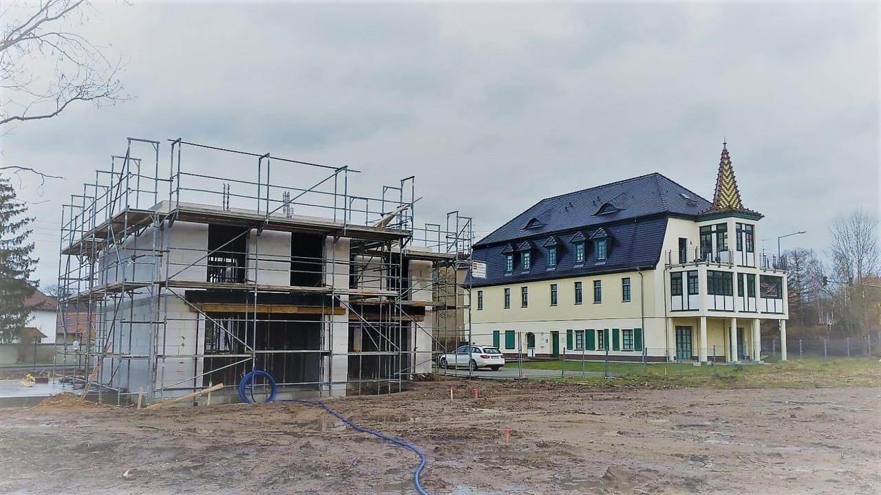 Baustart an der Dorfstraße