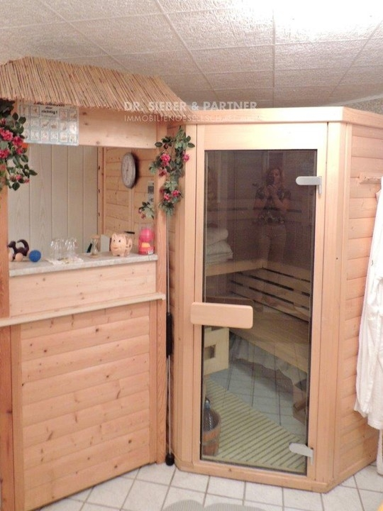 Sauna im Souterrain