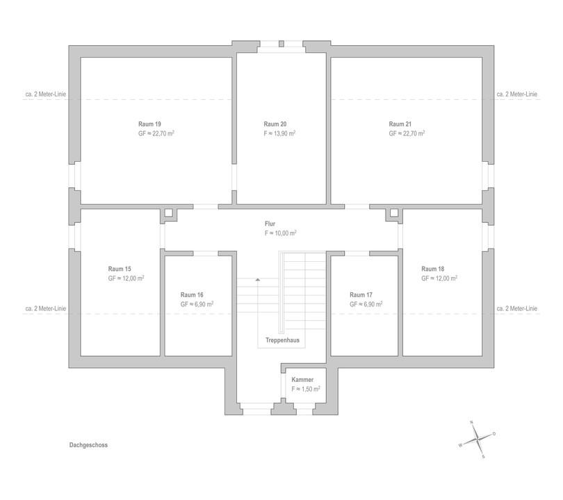 Bestand Dachgeschoss