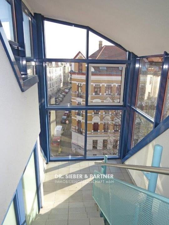 Lichthelles Treppenhaus