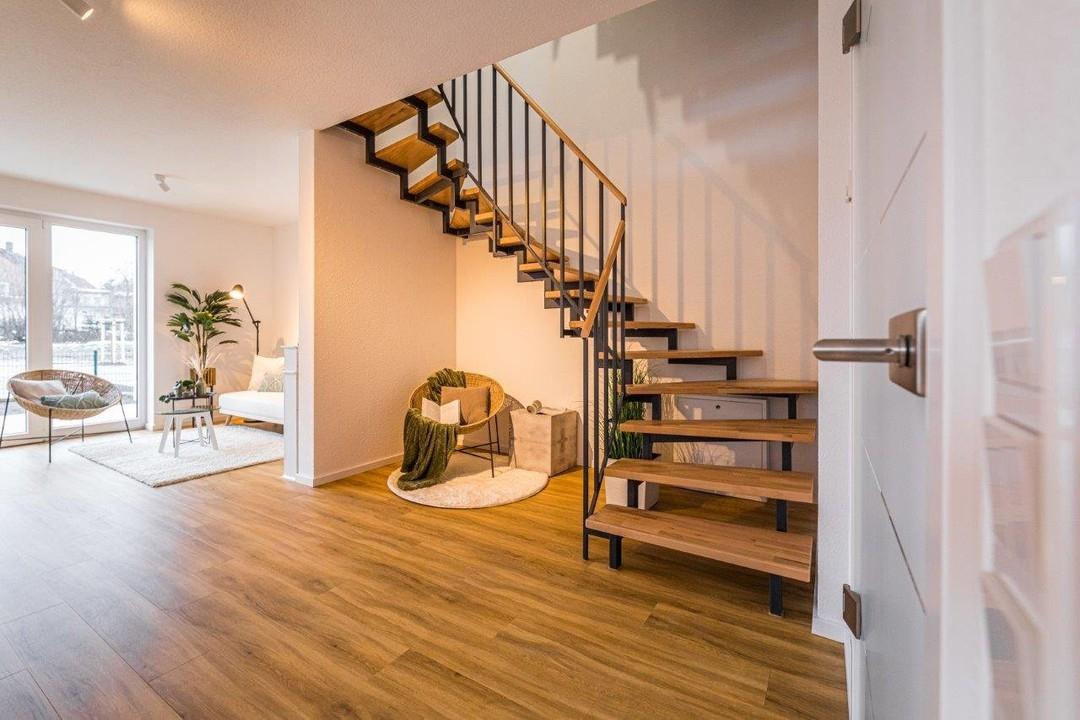 elegante Treppe