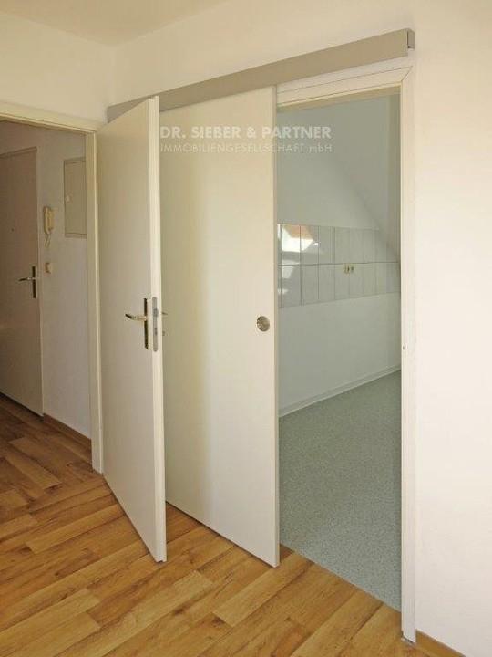 Tür zur Küche